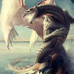Dragon, mouth, wings