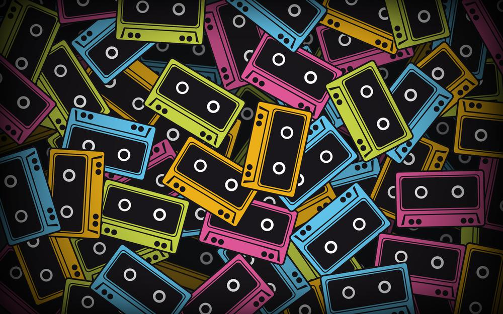 Tapes, tapes, abstract