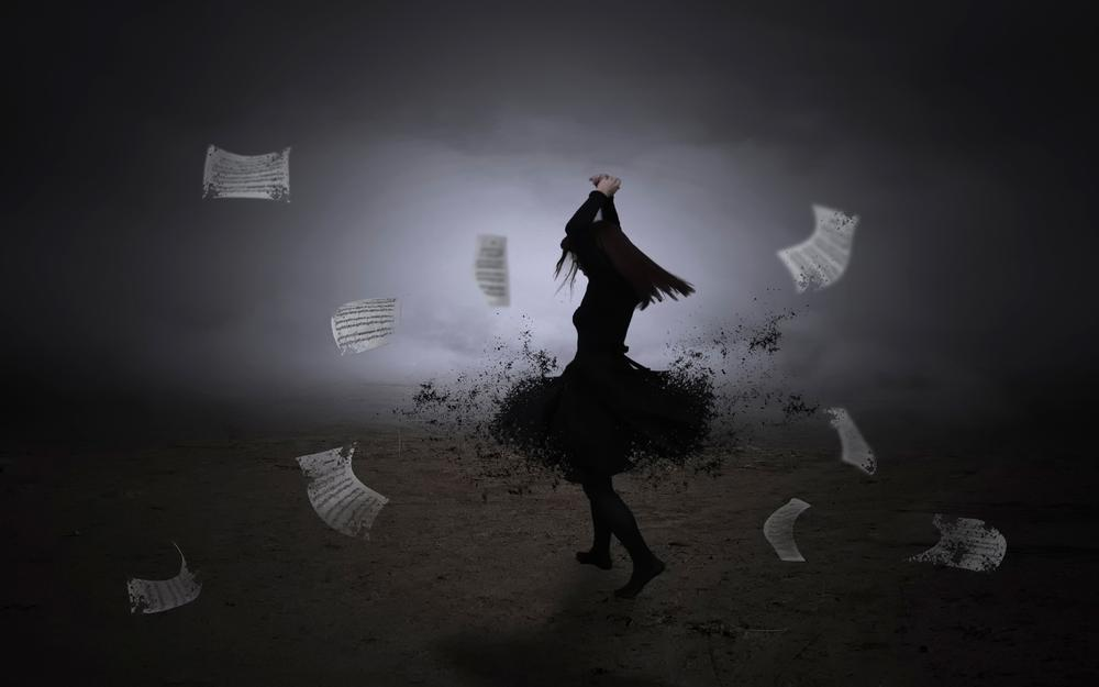 Notes, dance, dance, whirlwind