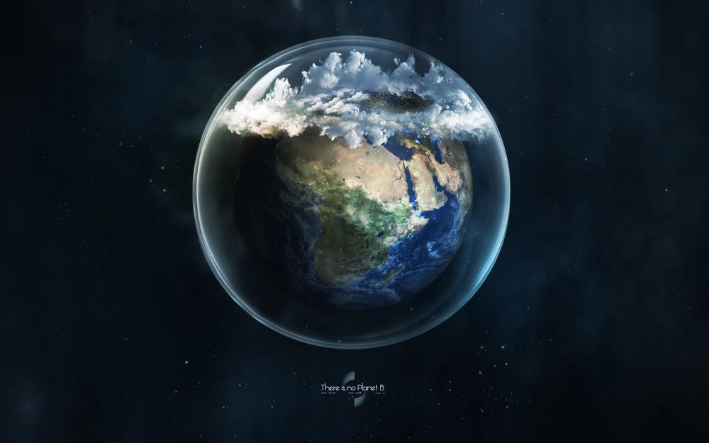 Glass, planet, earth