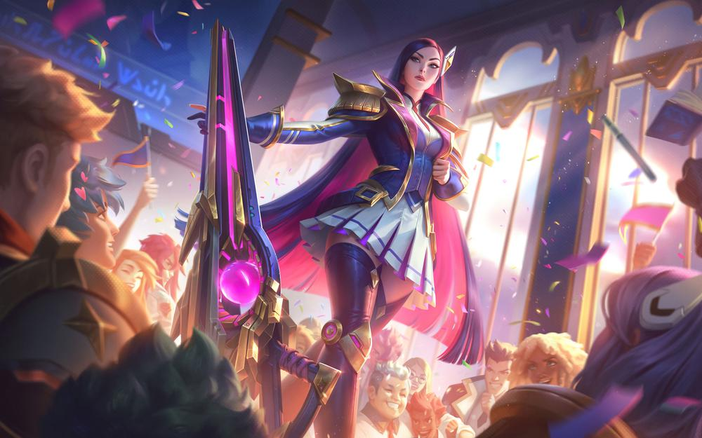 Lol league of legends pedicah women's police competition college katelin hd wallpapers
