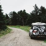 Auto, bicycle, travel wallpaper