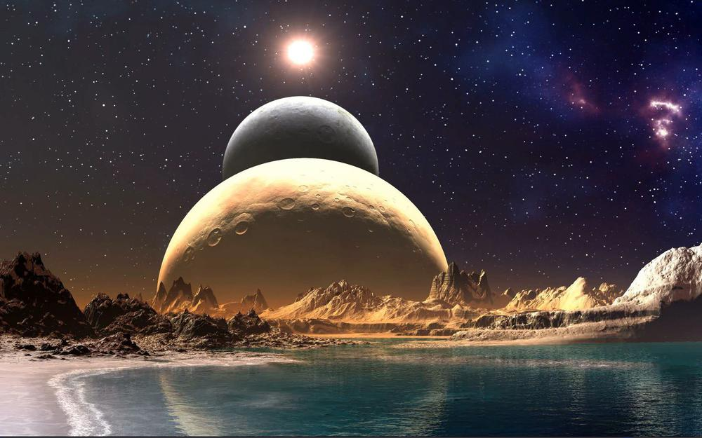 Cosmos, parade planets, wallpapers