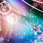 New year, background, abstraction