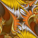 Pattern, color, fractal, lines, chaos