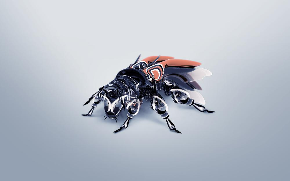 Fly, robot, wings