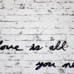 Letters, text, love is all you need