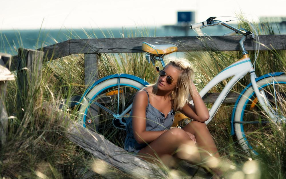 Summer, bicycle