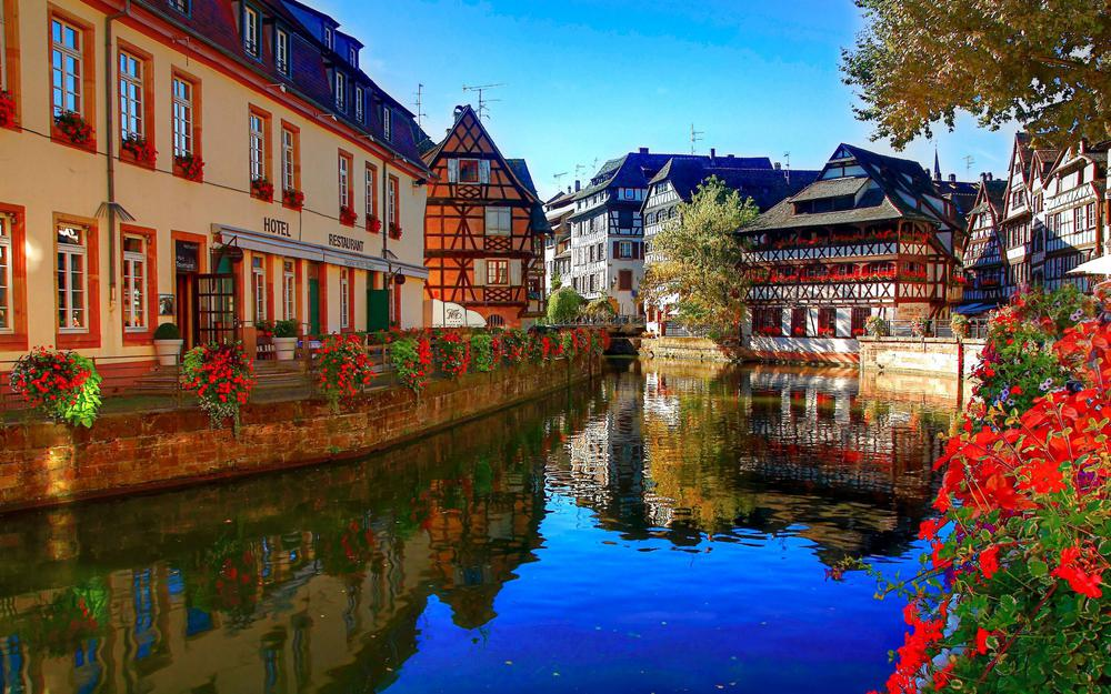 Countries architecture france river country architecture france river desktop wallpaper