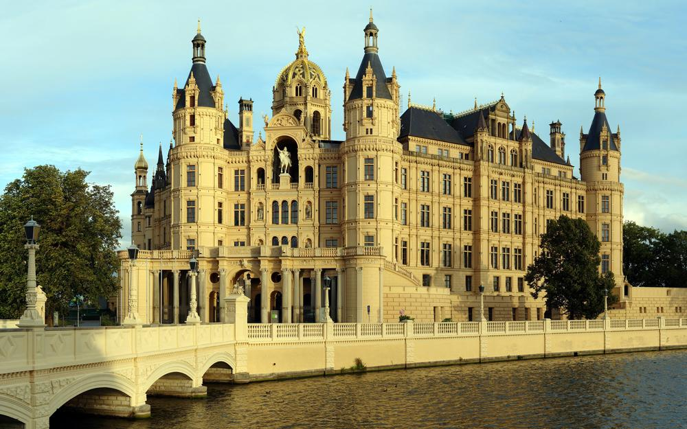 Countries architecture schwerinsky castle germany
