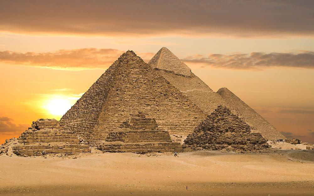 Country pyramids architecture egypt