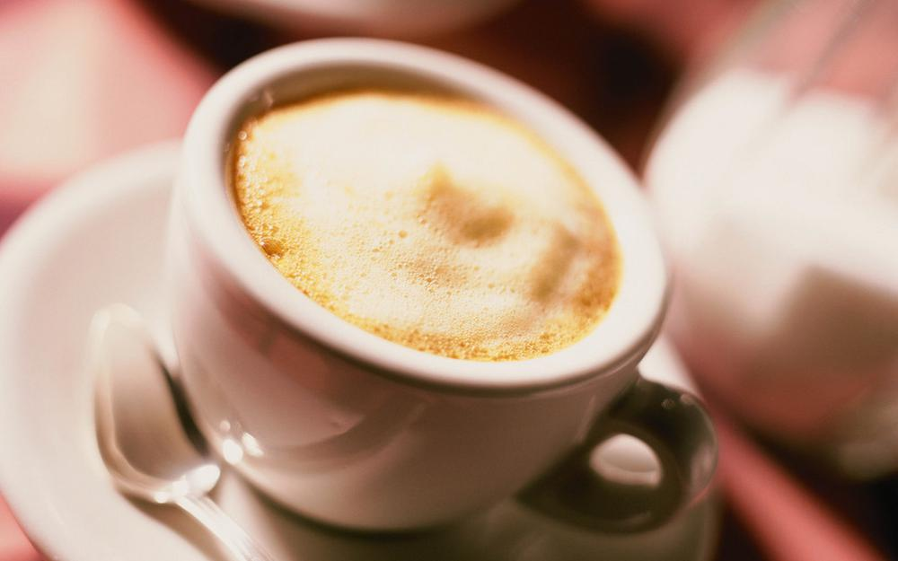 Cup, coffee, cappuccino, mood