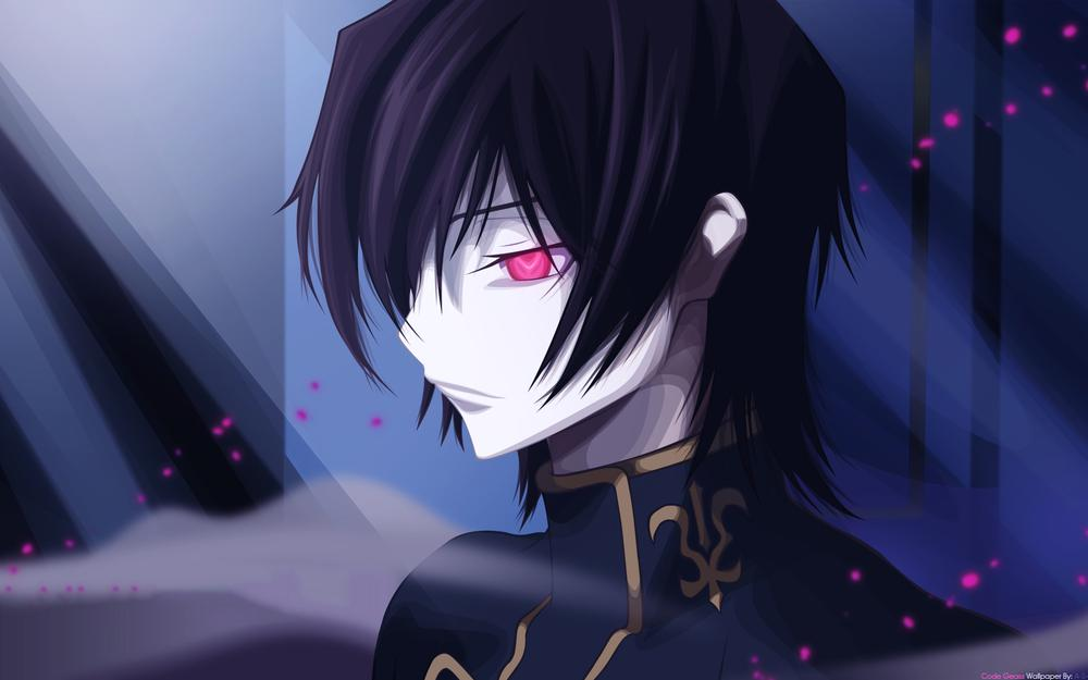 Code geass,lelouch lamperouge,male,all male,close