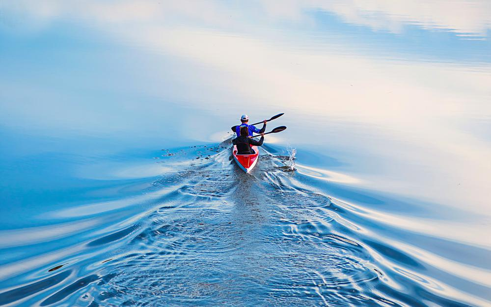 Water, boating, sports