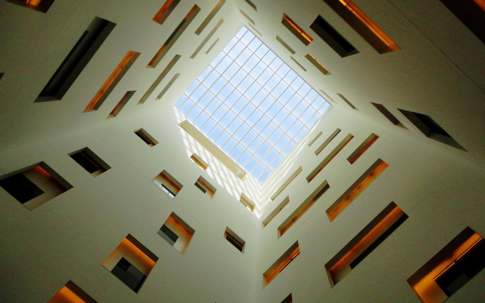 Wall square glass ceiling hd wallpaper
