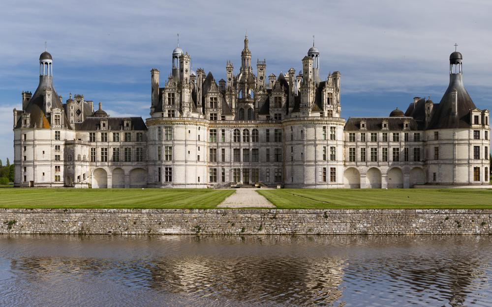 Countries architecture castle shambor country architecture castle chambord wallpaper