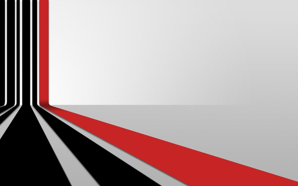 Perspective, lines, red, black