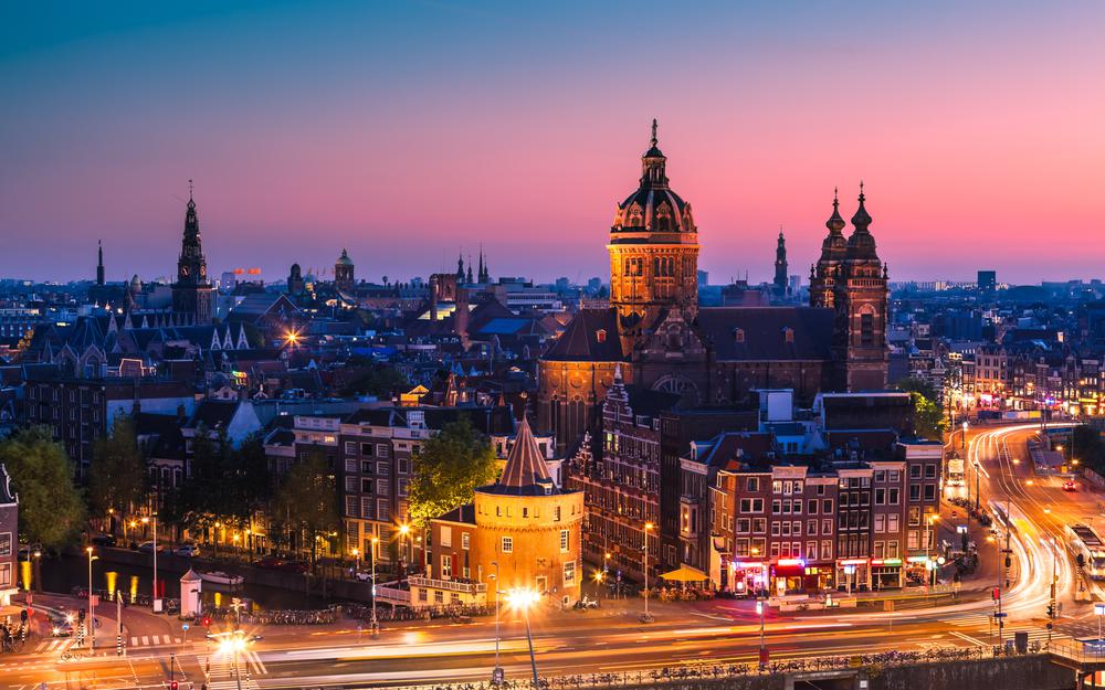 Architecture country country basilica nicholas amsterdam