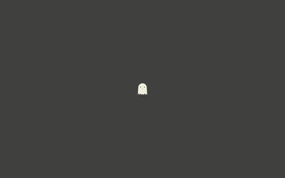 Smile, ghost, cute, pretty, baby, smiling, kind