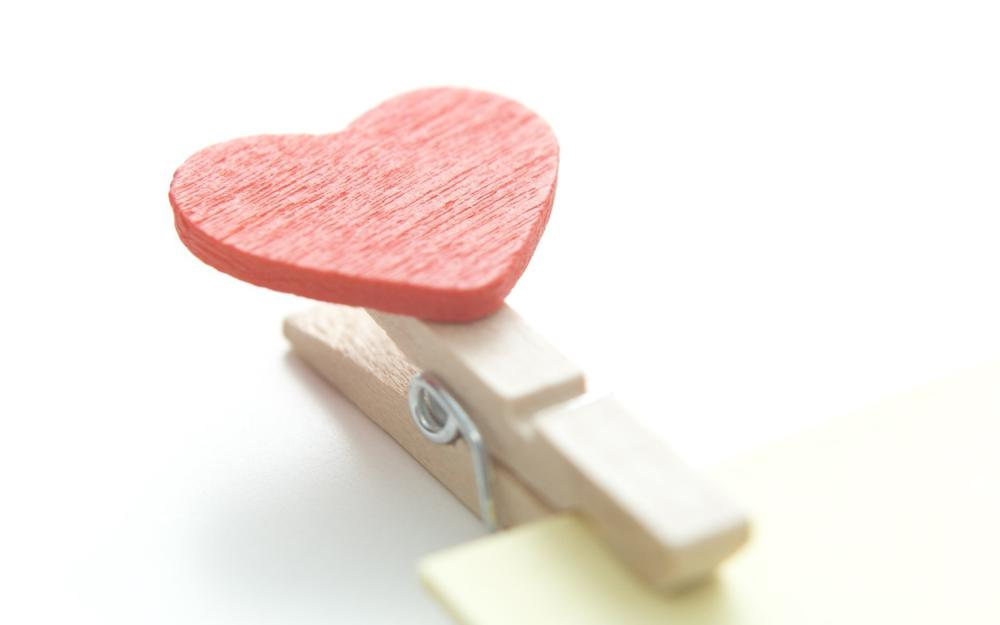 Love, heart, heart, valentines day, valentine's day, wallpapers, clothespin