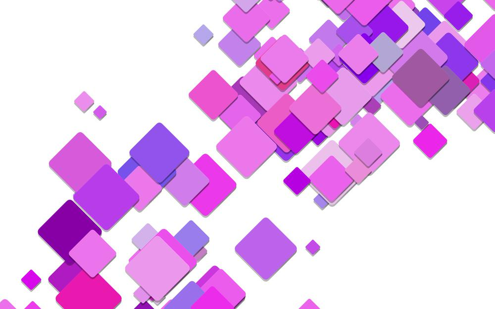 Squares, abstraction, purple, squares, background