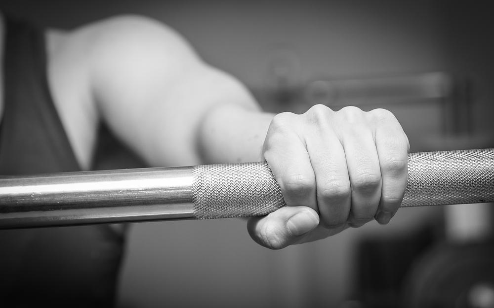 Metal, fitness, fingers, gym, weight bar