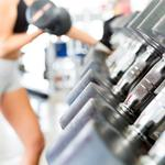 Dumbbell, gym, arms training, workout